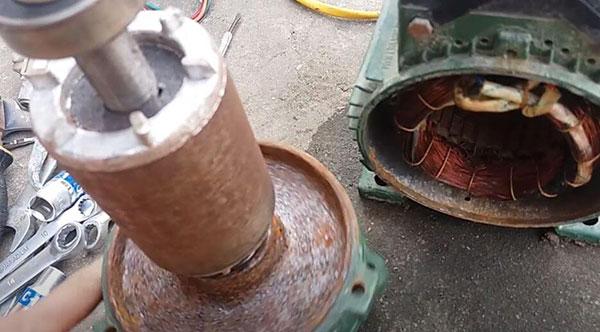 chữa máy bơm ở kiến an