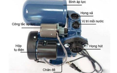 những lưu ý khi sử dụng máy bơm nước tăng áp