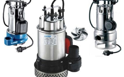 lưu ý lắp đặt máy bơm chìm nước thải