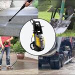 Quy trình bảo quản máy bơm rửa xe khi không sử dụng