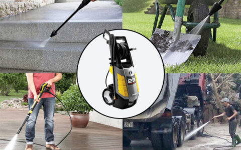 quy trình bảo quản máy bơm nước rửa xe khi không sử dụng