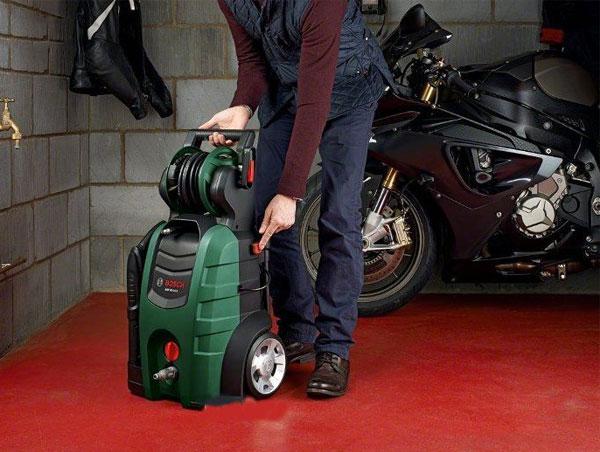 cách bảo quản máy bơm rửa xe khi không sử dụng