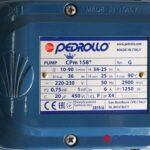 Máy bơm ITALY ly tâm Pedrollo CPm 158 hp3