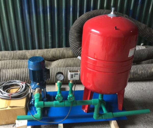 lắp đặt hệ thống máy bơm tăng áp ở hải phòng
