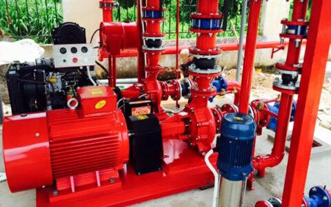 lắp đặt hệ thống máy bơm cấp nước PCCC tại hải phòng