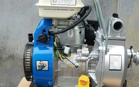 Hướng dẫn sử dụng máy bơm chạy xăng