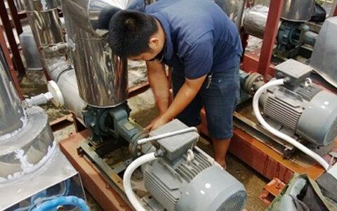 quy trình bảo dưỡng máy bơm