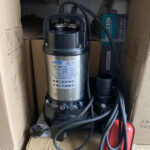Sử dụng máy bơm chìm nước thải đúng cách